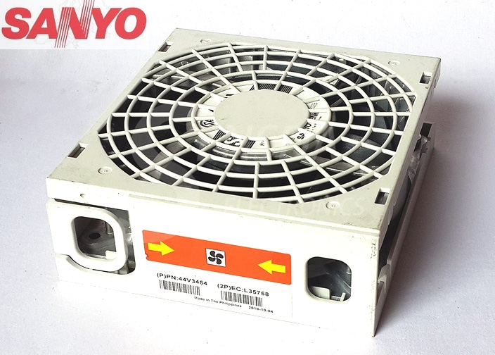 Sanyo 9SG1212P1G03 (P) PN:44V3454 (2P) EC:L3575B  12038 12cm DC 12V 4A server inverter axial blower cooling fans delta ffb1248ehe 12cm 120mm 12038 dc 48v 0 75a 4 pin pwm server industrial axial inverter cooling fans