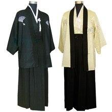 Новые модели Национальный Костюмы костюмы традиционных японских самураев Для  мужчин Кимоно костюмы этап полиэстер Производительность взр 67166f6c6ed26