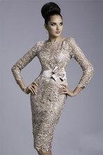 Spitze 2016 Mutter Der Braut Kleider Mantel Silber Schärpe Kurze Abendkleider Mutter Kleider Für Hochzeit