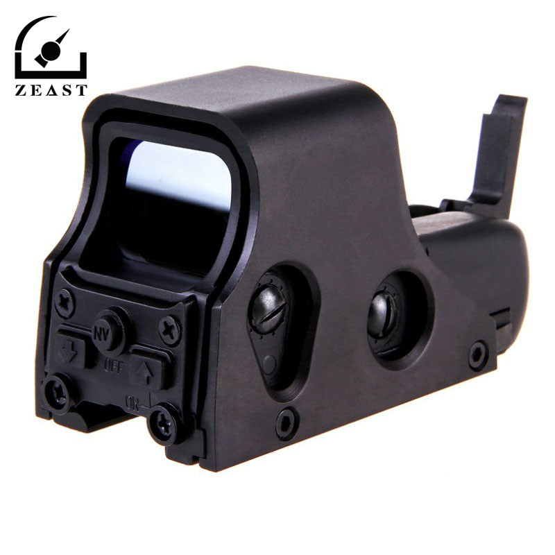 HD551 PortableTactical 1X22mm Airsoft Green Red Dot Reflex Sight Telescope With 4 Type Reticle Scope Hunting G un Accessories битоков арт блок z 551