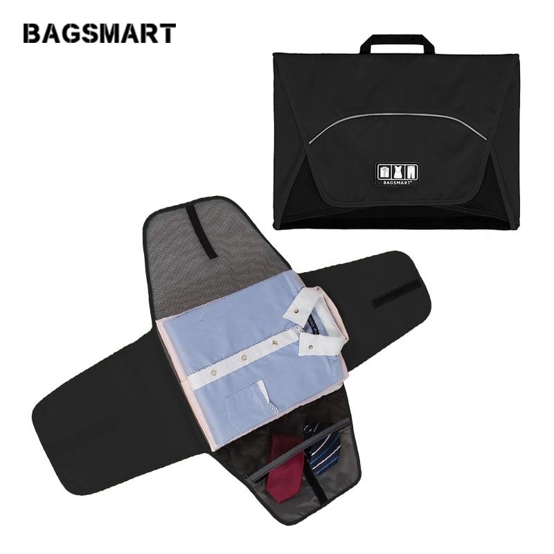 BAGSMART 17 homme femme dossier vêtement Anti-rides T Chemises Cravates sacs d'emballage accessoires de voyage Sac et emballage de bagages Cube