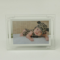 Crystal Glass Lace Photo Frame Set 6 Inch 7 Inch 8 Inch 10 Inch A4 Simple Ins Honor Certificate Box