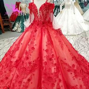 Image 3 - AIJINGYU 格安ウェディングドレス割引リアル画像スイスセクシーなヴィンテージドレス袖ビクトリア朝のウェディングドレス