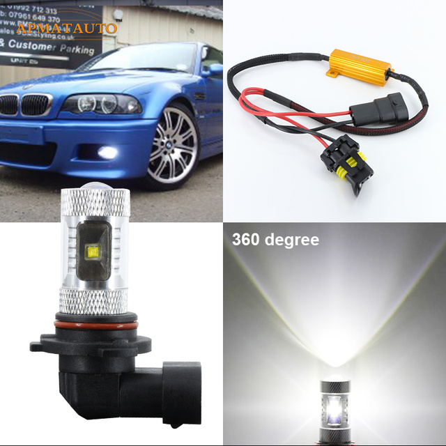 Canbus 9006 Hb4 Xbd Chips Led Fog Light Bulb For Bmw 3 5 7 Series