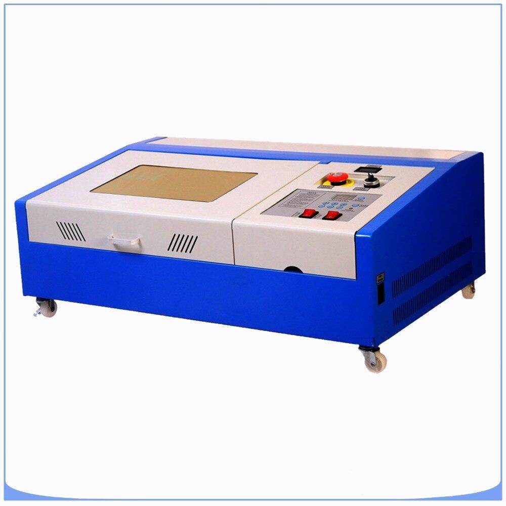 HIGH SPEED  CO2 Laser Engraving Machine 40W USB Port Water Cooling Engraving Machine