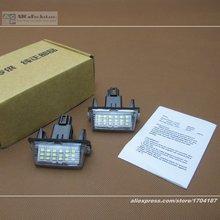 Para Toyota Verso Sportsvan/E'Z EZ 2009 ~ 2014/LED Coche Luz de la Matrícula/30frame/Lámpara de LED de Alta Calidad luces