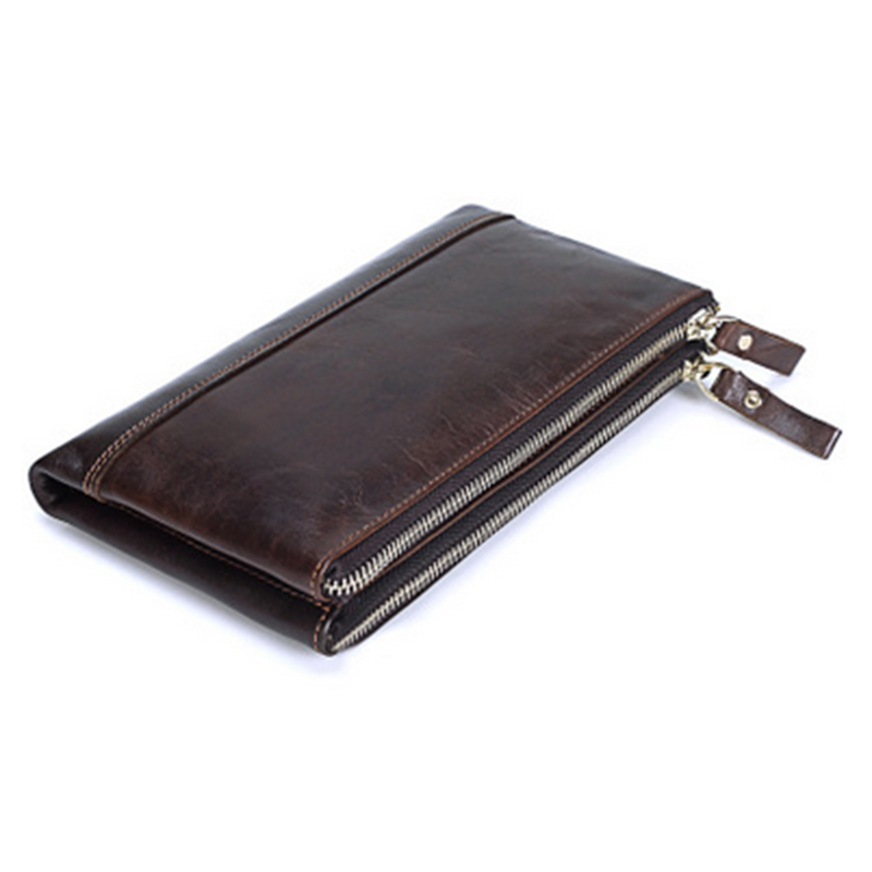 Large Capacity Genuine Leather Man Card Holder Credit Card Holder Solid Coin Purse Clutch Money Wallet Cowhide Men Long Wallets contact s genuine leather women wallet large capacity long purse card holder fashion brand real cowhide clutch money bag wallet