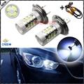 Free Error de Canbus 8000 K CRE'E Tipo H7 Bombillas LED Para Audi BMW Mercedes Porsche Volkswagen en luz De Carretera Daytime Running luces