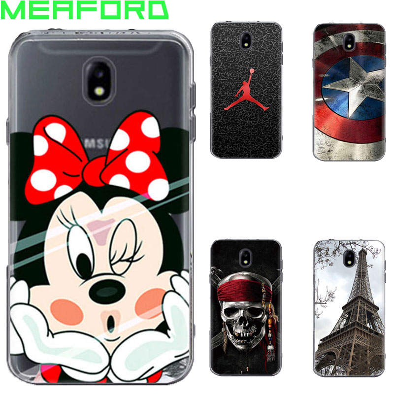 for coque samsung j7 2017 case silicone cute cartoon soft tpu back cover phone case for samsung. Black Bedroom Furniture Sets. Home Design Ideas