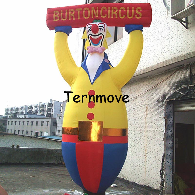 Inflatable Clown Air Dancer for Advertisement Customed nylon inflatable clown air dancer, inflatable sky dancer inflatable coffee cup for advertisement