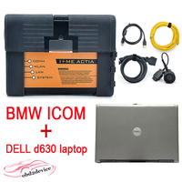 Newest arrive V2018.3 HDD icom A2+B+C for BMW Auto Diagnostic & Programming scanner + d630 laptop with HDD Software DHL Free