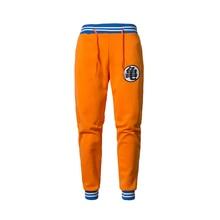 Новинка 2019, спортивные брюки GOKU с Аниме Драконий жемчуг Z, мужские Брендовые повседневные штаны для упражнений, мужские хлопковые эластичные брюки, штаны для бега