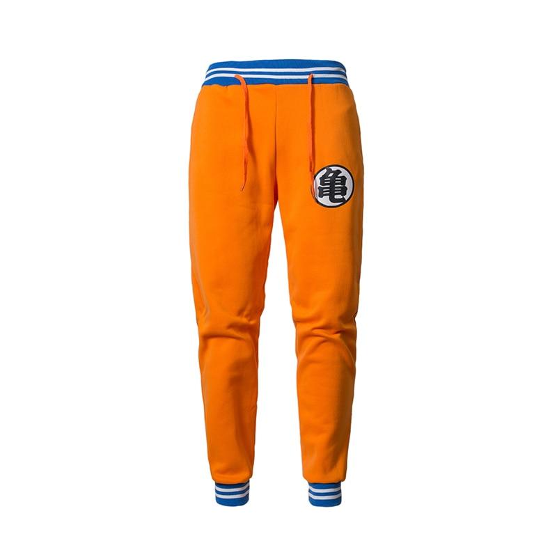 2019 New Anime Dragon Ball Z GOKU  Sweatpants Men Brand Casual Exercise Trousers Pants Men Cotton Elastic Pants Joggers Pants-in Casual Pants from Men's Clothing