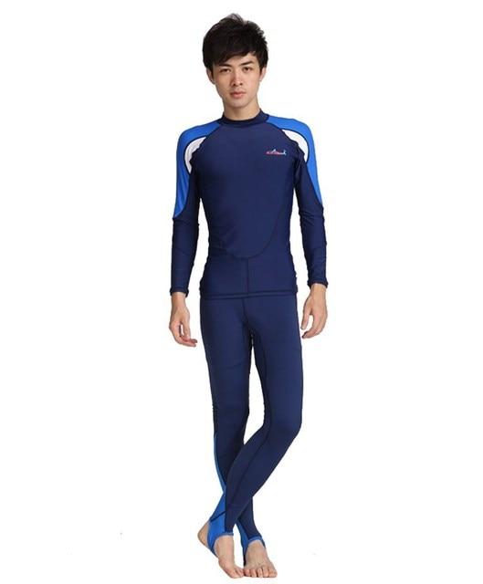 1ea9e7b90d Sun Protection Swim Suit UPF 50+ Full Body Sports Dive Skins Two-pieces  Design