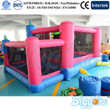 Outdoor Fun Sports For Family Use Mini Inflatable Trampoline Bouncer Jumping For Kinds