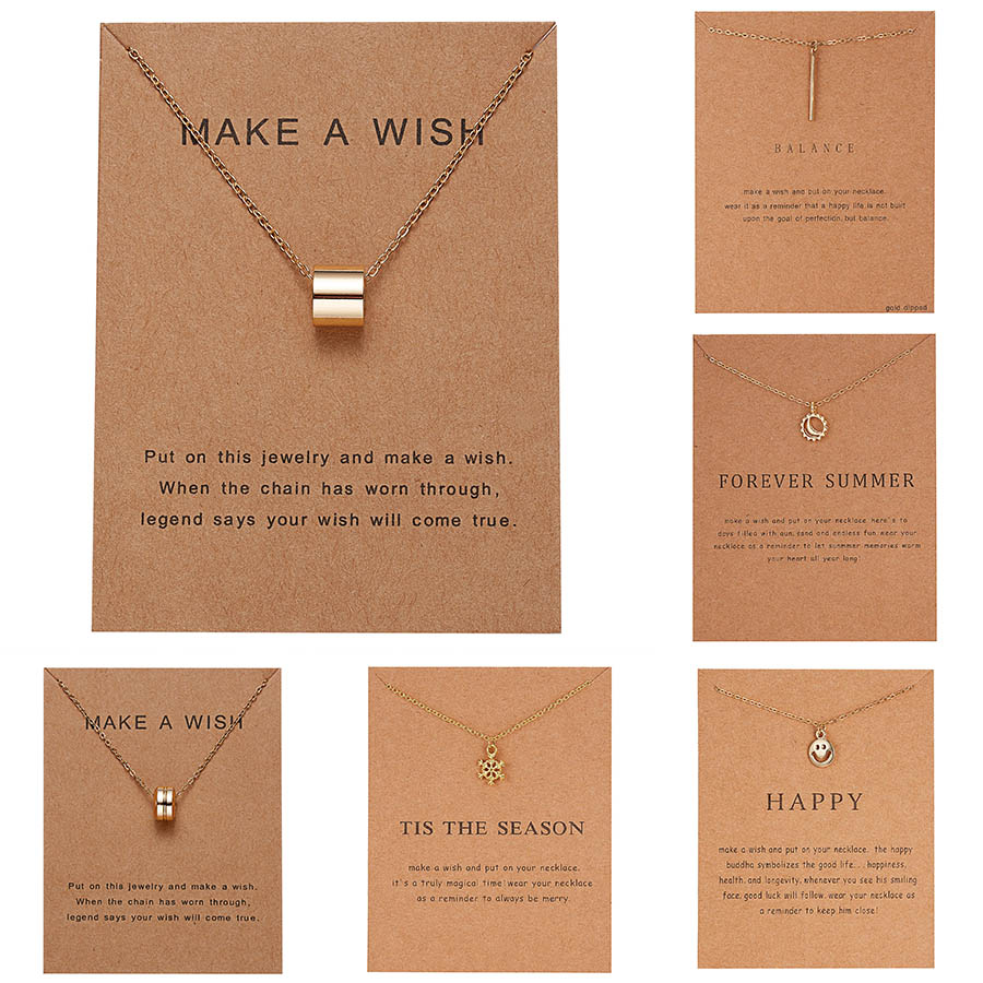 Fashion Jewelry I Love Mom Halo Charm Pendant Necklace Simple Hollow Round Circle Pendants Choker Necklace For Women Gift