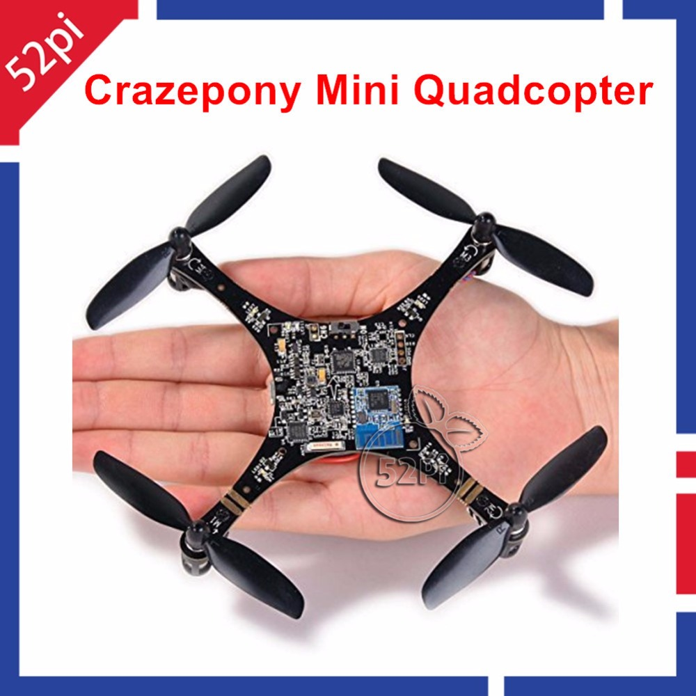 Mini Quadcopter Drone RC Crazepony Quad Rotor Open Source PCB Development Platform