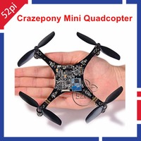 Mini Quadcopter Drone RC Crazepony Quad Rotor Open Source PCB Development Platform
