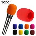 black microphone foam mic cover wind protective windscreen grill audio shield
