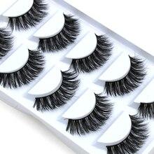 False Eyelashes Mink 5 pairs