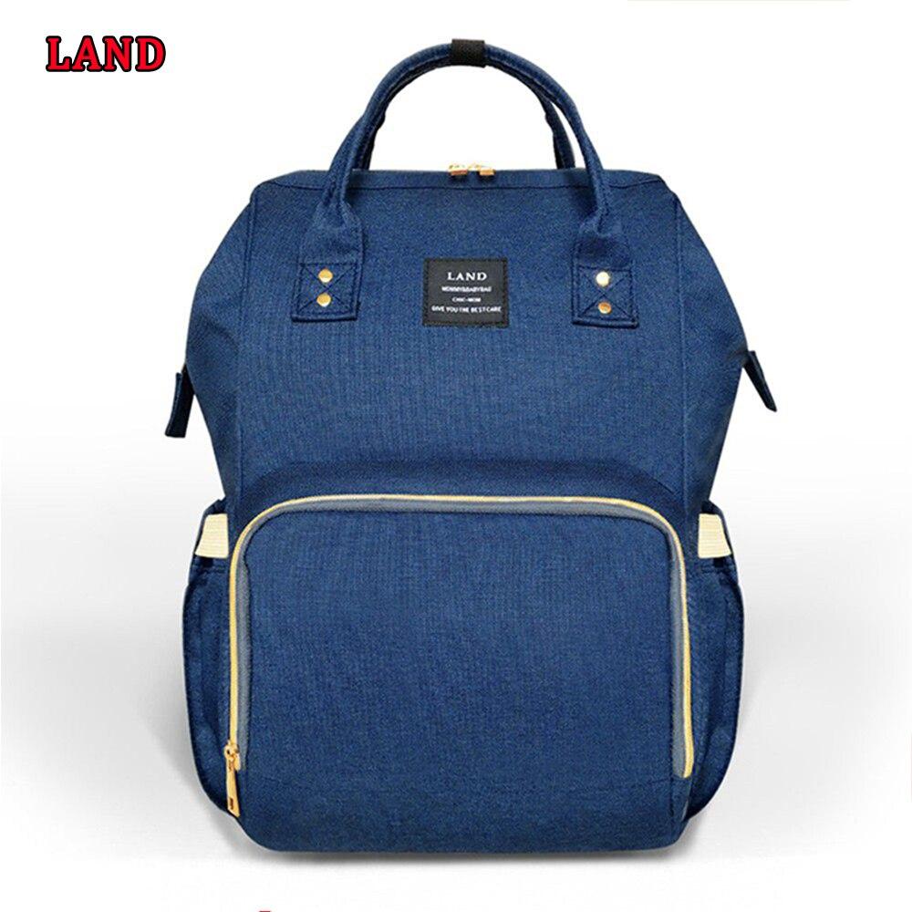 LAND Mummy Maternity Nappy Bag Baby Diaper Bags Backpack Travel Nursing Baby Bag for Mom Fashion Nursing Bag for Baby Care! bag