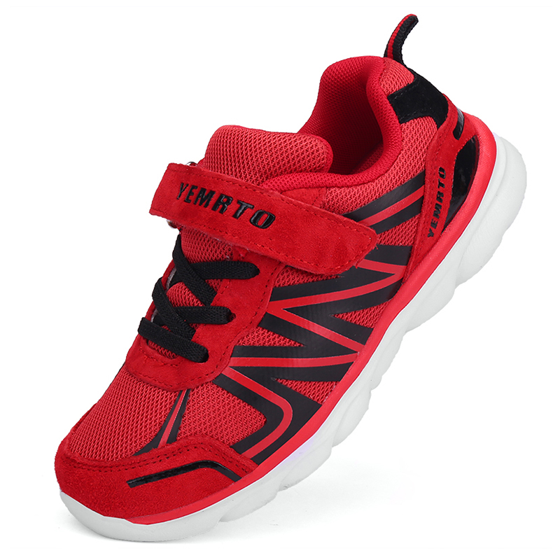 2017 Winter Boys Outdoor Designer Sneakers Kids Height Increasing Brand Shoes Children Travel Sport Patike Enfant Anti Slip New kelme 2016 new children sport running shoes football boots synthetic leather broken nail kids skid wearable shoes breathable 49