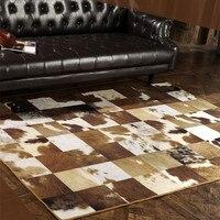2 м * 3 м гостиная с большими коврами ковёр высокого качества имитация кожи шитье поддельный меховой коврик детский для ползания ковры древни
