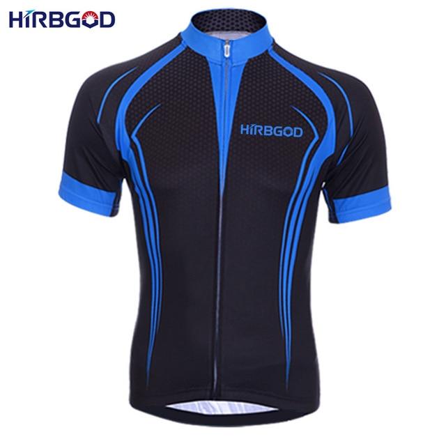 HIRBGOD 2016 new mens bike cycling jersey black dark blue cool style bicycle  shirt comfortable mtb downhill sportswear 9b69692e1
