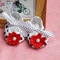 Bebé barato zapatos de la bailarina, muchacha del bebé mocasines, zapatos de bebé de 1 años de edad, niña, niño zapatos del holgazán, suave suela del calzado infantil