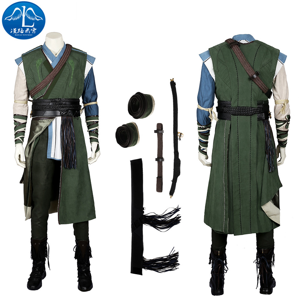 ManLuYunXiao Baron Mordo Cosplay Halloween Costume For Men Adult Marvel Doctor Strange Moive Roleplay Custom Made Plus Size