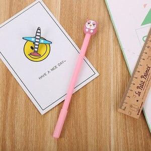 Image 2 - 40 adet karikatür kırtasiye baykuş nötr kalem yaratıcı güzel öğrenci kalem ofis malzemeleri imza kalem