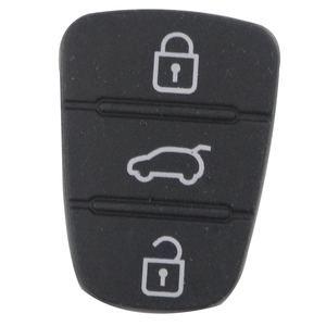 Jingyuqin 2 шт. 3 BTN силиконовый дистанционный ключ резиновый кнопочный коврик для Kia Rio 3 Picanto Ceed Cerato Sportage K2 K3 K5 Soul hyundai i30