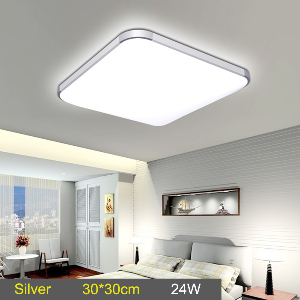 LED Ceiling Down Light Lamp 24W Square Energy Saving For Bedroom Living Room LB88