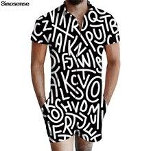 3D Графический Мужской комбинезон, повседневный комбинезон с короткими рукавами, комбинезон, летний облегающий костюм, мужской комбинезон с карманом S-3XL