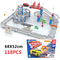 Boys Electricity Track Car Toys Children Educational Assembly Track Car Toys DIY Slot Car Toys