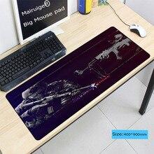 Mairuige Counter Strike Gun Large Locking Edge Computer Gaming Speed Mousepad Rubber Play Mat For CSGO DOTA LOL Gamer