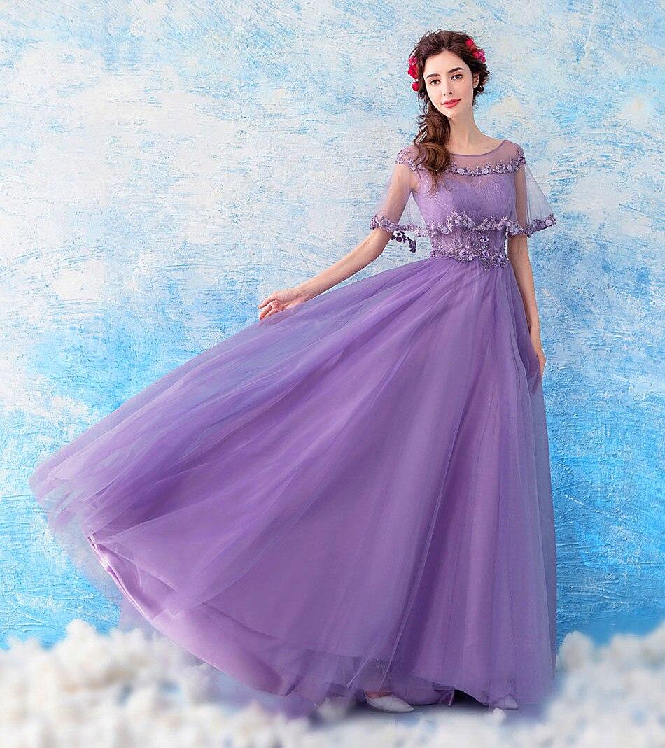 47f72bb89ade3 Romantic Purple Pregnant Woman Evening Dress Maternity Clothing V ...