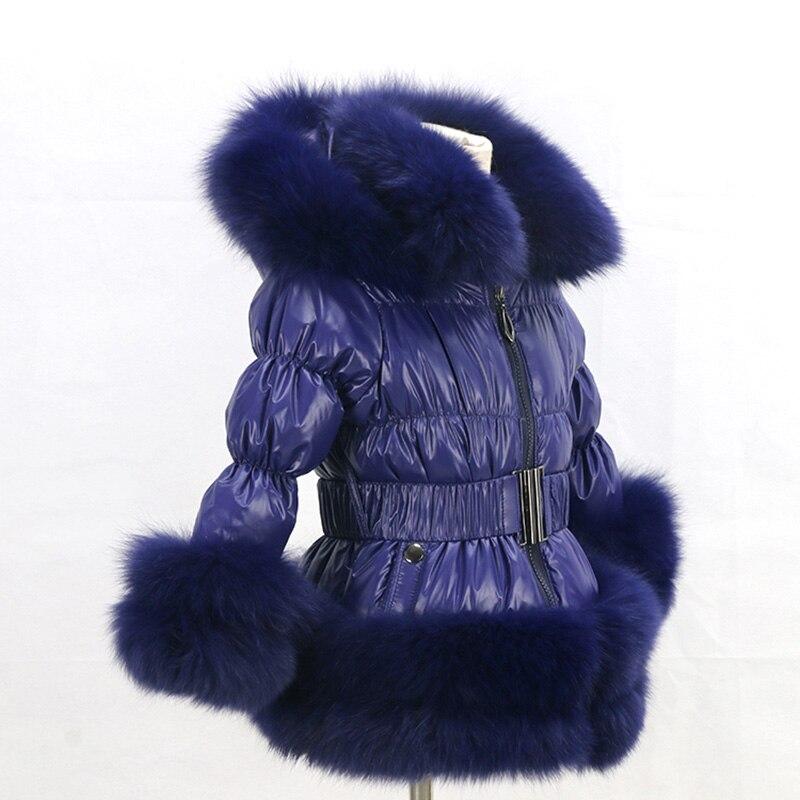 Brezplačna dostava novi slog zimski otroški plašč / priljubljena - Ženska oblačila - Fotografija 4