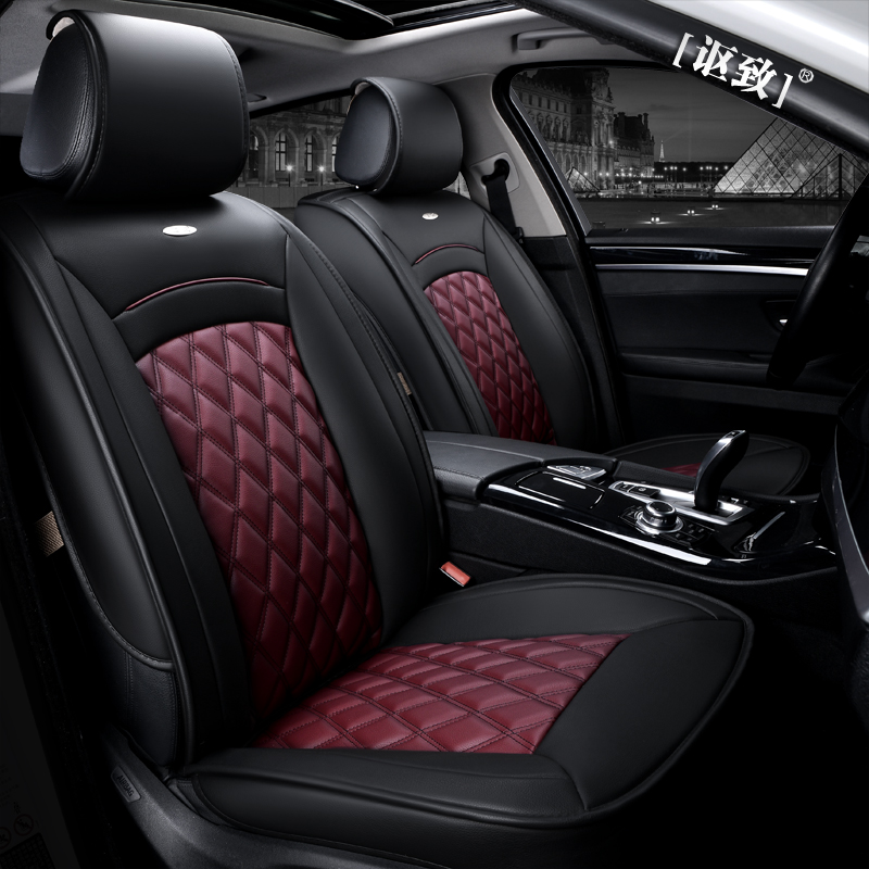 OUZHI New Styling Luxury Leather 5 Color 3D Car Seat