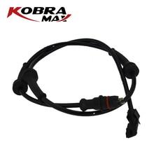KobraMax ABS Sensor Wheel Speed Sensor Front For Renault Grand Megane Scenic 8200446282 kobramax front abs sensor left right for renault grand scenic megane ii scenic 8200404460