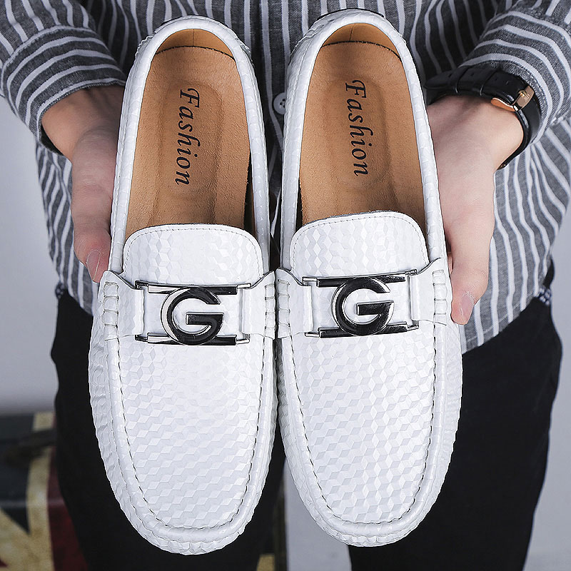 Mocassin Loafers Genuine Leather Handmade Stitching Luxurious Flats Men's Boat Shoes Summer Men Casual Shoes Driving big sizes men s genuine leather casual shoes handmade loafers for male men waterproof flat driving shoes flats