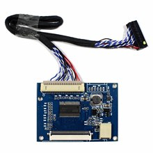 LVDS TTL Tcon Board Work For 6.5inch 7inch 8inch 9inch 800x480 800x600 AT065TN14 AT070TN92 AT080TN64 AT090TN10 50Pin LCD Screen