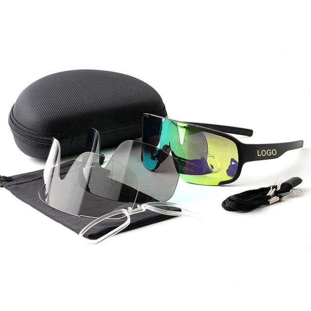 ASPIRE Óculos de Ciclismo lente 3 POC Bicicleta Ao Ar Livre Bicicleta Óculos Esporte Ciclismo Óculos De Sol Da Marca Projeto Homens Mulheres Ciclismo Eyewear 5