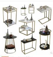 Диван угловой несколько Locke креативная мебель модный боковой стол современный минималистичный кованый маленький круглый журнальный столи
