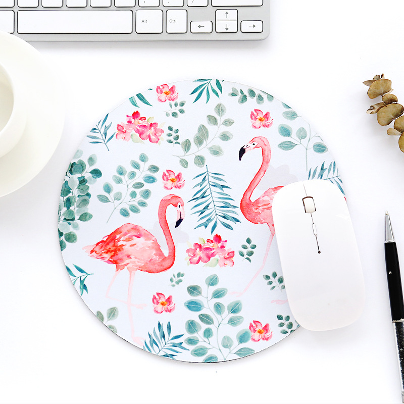 Desk Set 1pc Waterproof Cactus Flamingo Office Computer Desk Mat Table Coaster Placement For Mug Cup Home Decoration Desk Set Accessories Desk Accessories & Organizer