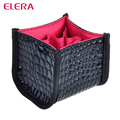 New arrival! Black Faux Crocodile Skin Makeup Cosmetic Brush Holder Case Makeup Brush Set Bag Cosmetic Beauty Case Free Shipping