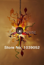 лучшая цена Free shipping hand blown murano art glass chandelier light (BGC2033)