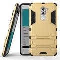 Dupla armadura case para huawei honor 6x ultra-fino à prova de choque 2 em 1 armadura híbrido phone case para huawei honor6x com suporte hu1408