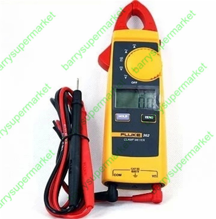 How To Use Clamp Meter 362 Fluke To Measure Resistance