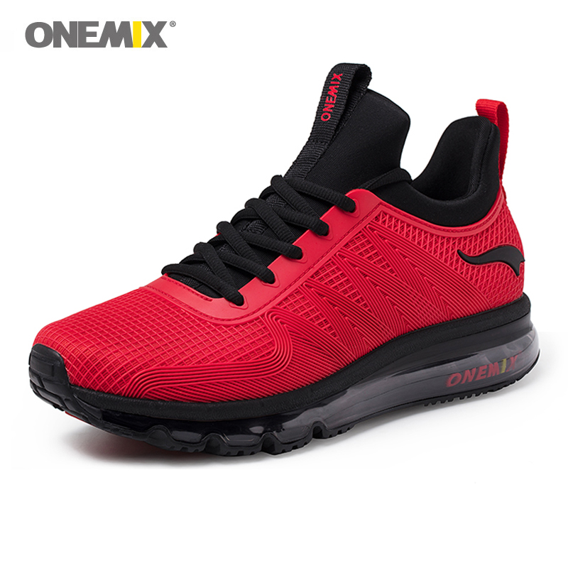 ONEMIX Man Sneakers 2020 Atheltic Shoes For Men High Top Sport Shoe Breathable Gym Shoes Comfortable Athletic Walking Sneakers